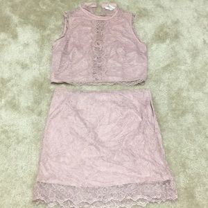 Two piece forever 21 set L